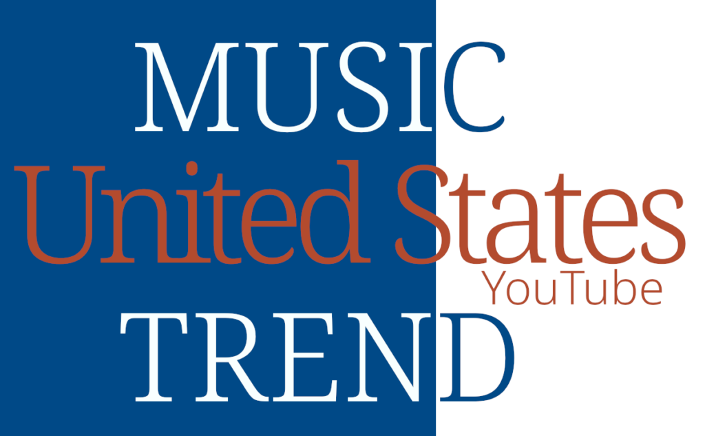 US United States Music Trend