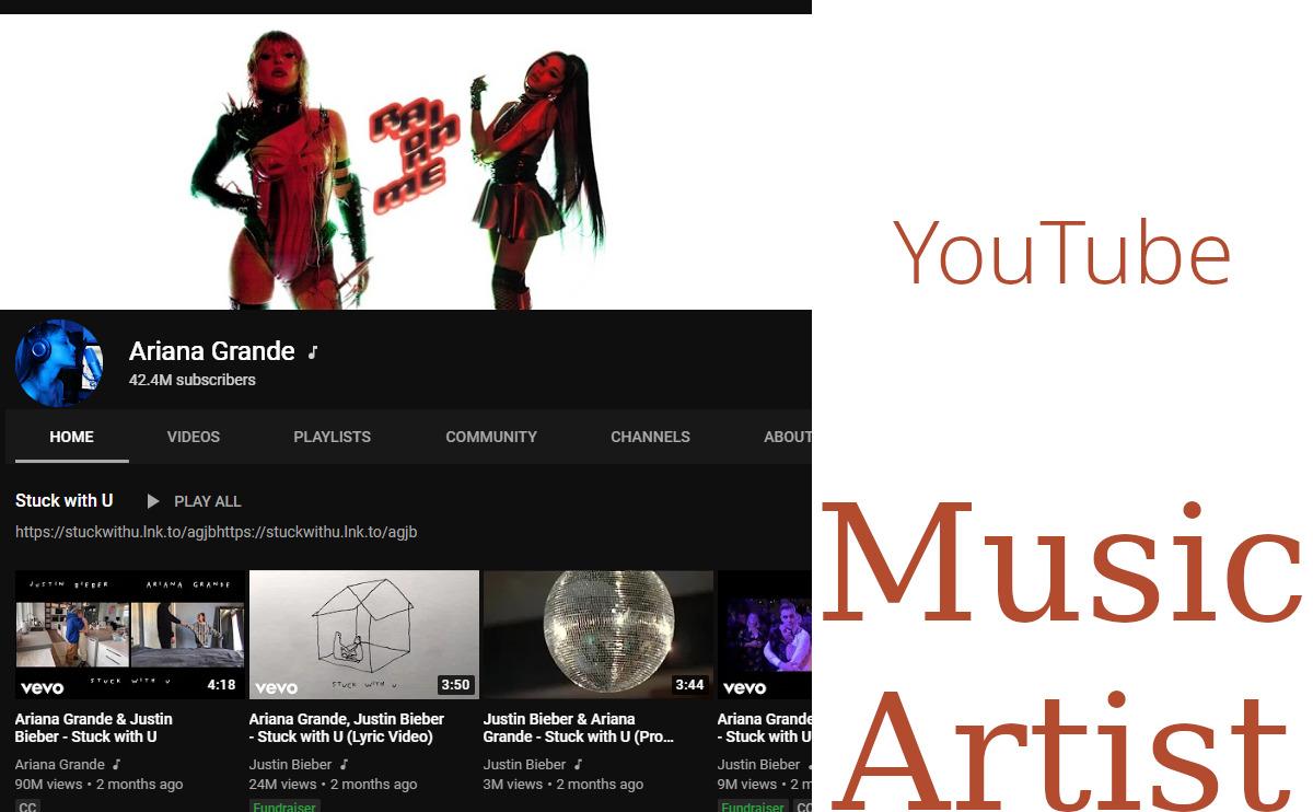 Ariana Grande - YouTube Channel