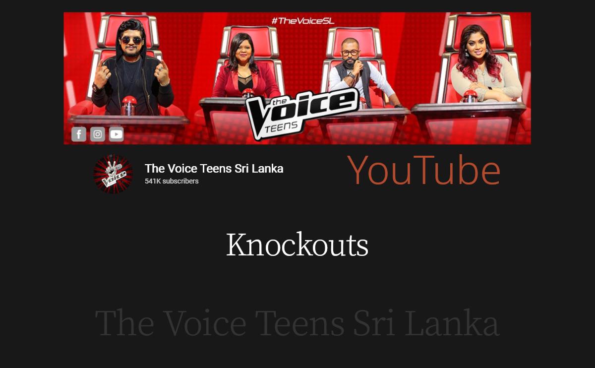 Knockouts | The Voice Teens Sri Lanka