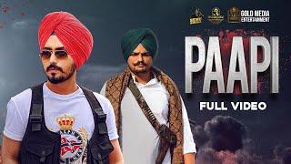Paapi (Full Video) Rangrez Sidhu | Sidhu Moose Wala | Kidd | Gold Media | Latest Punjabi Songs 2020