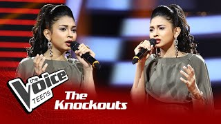 Himasha Umayandi | Hemin Sare Piya Wida (හෙමින් සෑරේ) | Knockouts | The Voice Teens Sri Lanka