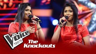 Chamathka Peiris | Tujh Mein Rab Dikhta Hai | Knockouts | The Voice Teens Sri Lanka