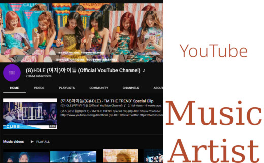 G I-DLE - YouTube Channel